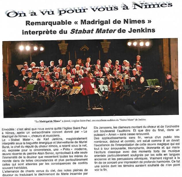 Dossier De Presse Le Madrigal De N 238 Mes