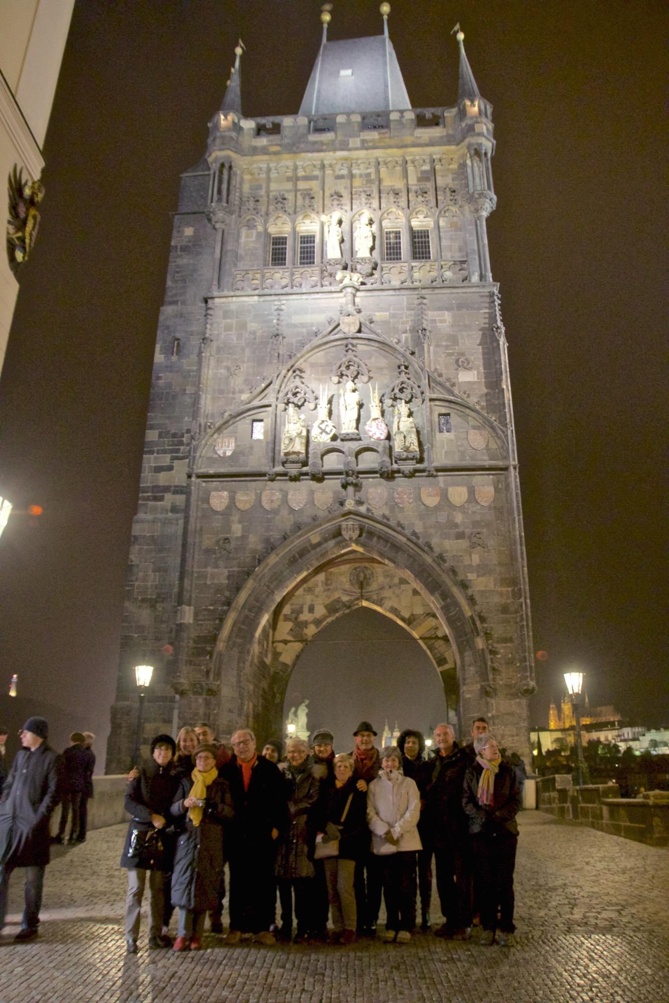 Tour du pont à la place Krizovnicke  Old Town Bridge Tower (Staroměstská mostecká)  Prague -