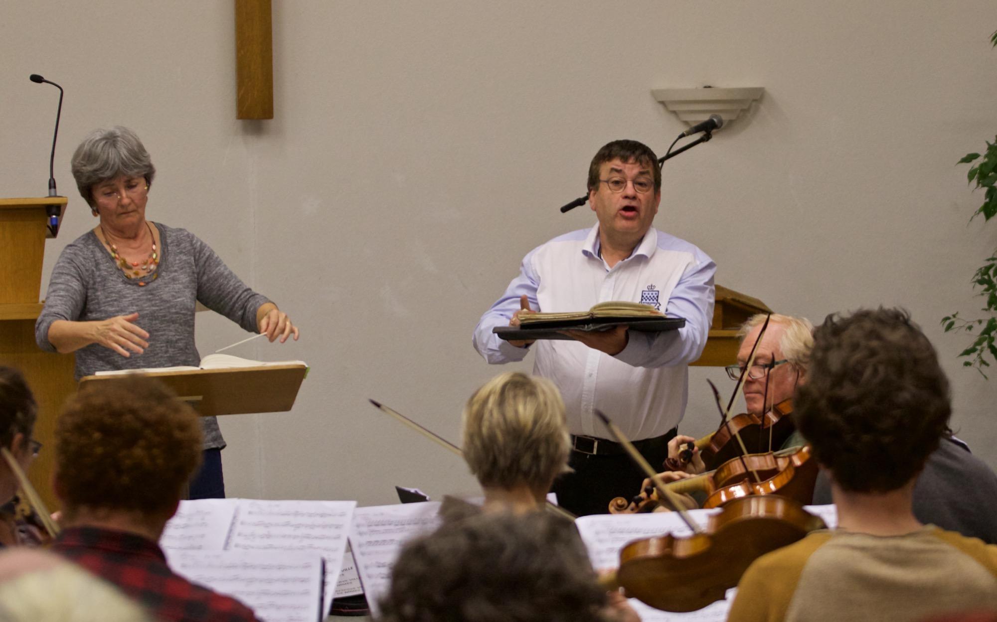 Ensemble Colla Parte & Le Madrigal de Nîmes dirigés par Muriel Burst -