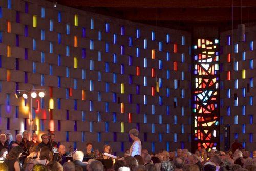 Eglise Saint Dominique à Nîmes, vendredi 15 juin 2018  Le MESSIE de Haendel (4éme représentation en 2018)   LES SOLISTES : Brigitte PEYRÉ, Soprano Els JANSSENS VANMUNSTER , Alto Patrick GARAYT, Ténor Philippe  CANTOR, Basse  L'Orchestre : Ensemble